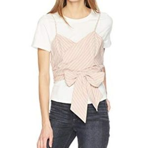 NWT ASTR the label Maddie 2in1 tee